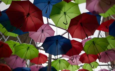 Articles Promotionnels >> Parapluie